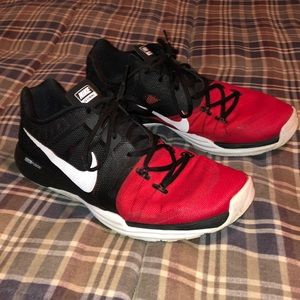 Men's Nike Prime Iron DF Black Red Training Shoes